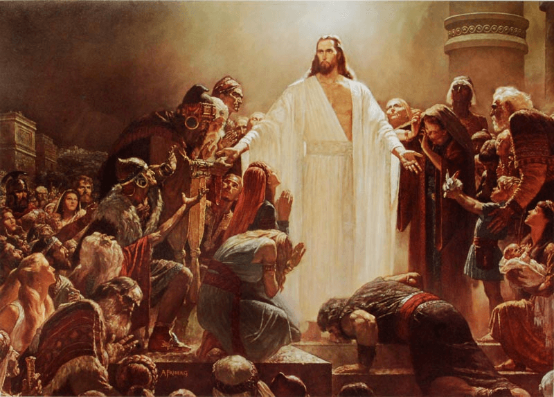 Arnold Friberg, The Risen Lord, 1963