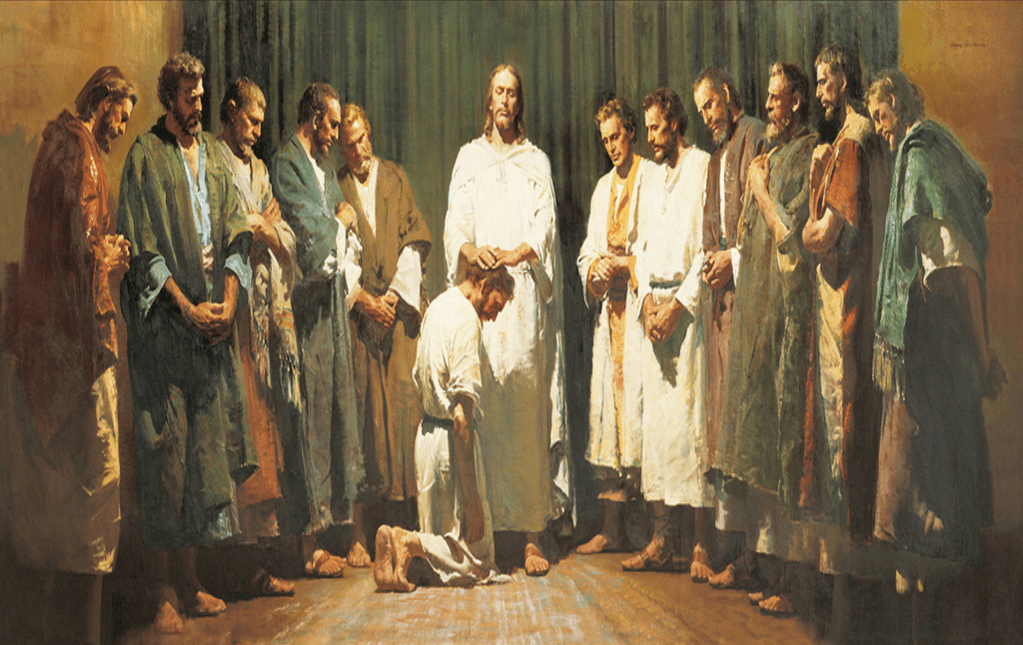 Harry Anderson, Christ Ordaining the Twelve Apostles